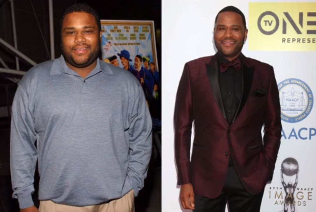 Anthony Anderson losing 50 pounds of weight.