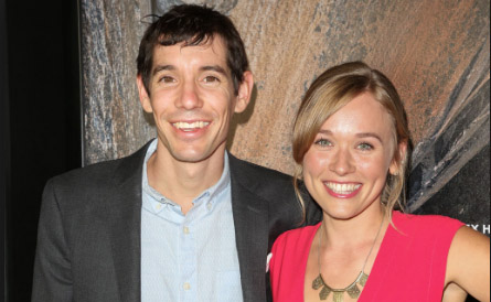 Alex Honnold and Cassandra McCandless spotted together.