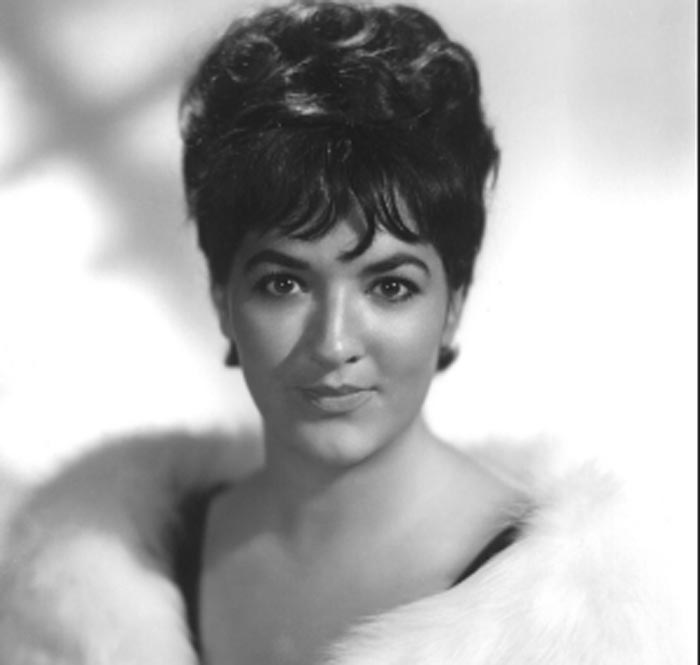 Morgana King poses for a picture.