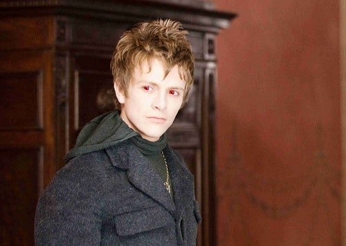 A picture of Charlie Bewley as Demetri in Twilight Saga.