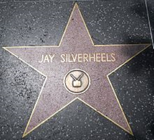 Jay Silverheels a star on the walk of fame.