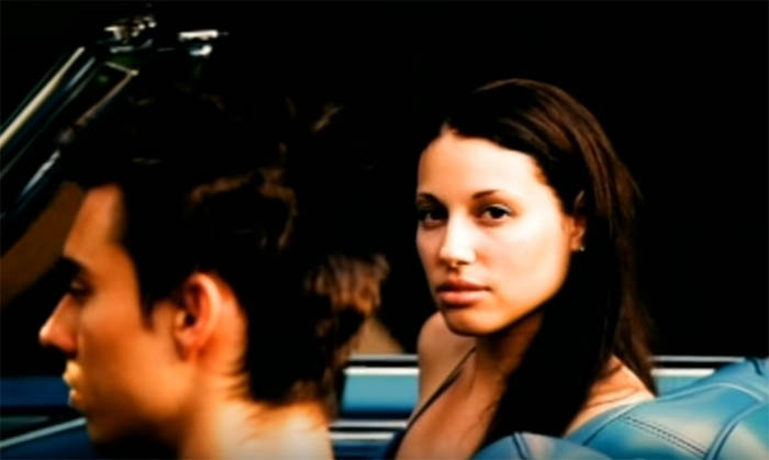 Marisol Thomas in the music video of Santana Smooth ft Rob Thomas.
