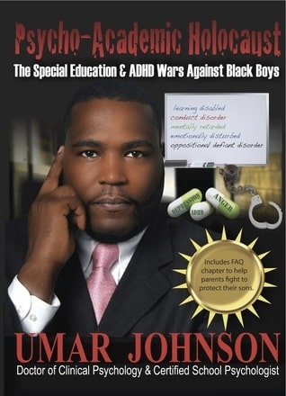 A picture of book written by Dr Umar Johnson.