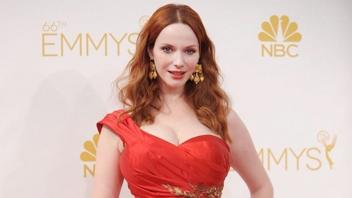 Christina Hendricks Said Her Breasts are Real – No Plastic Surgery Done
