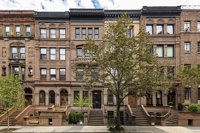 Peter Hermann New York townhouse.