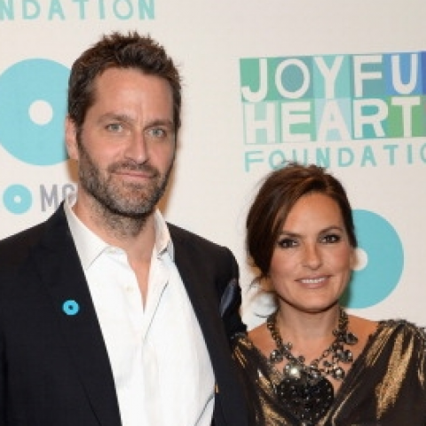 Peter Hermaan attending Joyful Heart Foundation 10th anniversay with his wife Mariska Hargitay