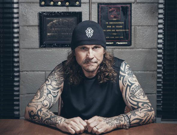 Kurt Sutter poses for a picture.