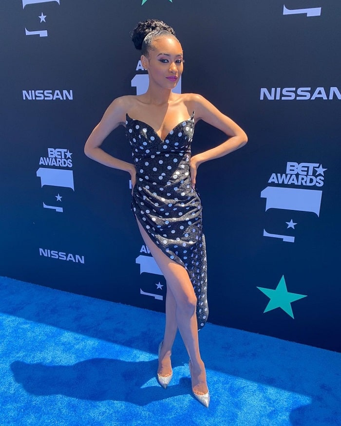 Lyric Anderson at the BET Awards.