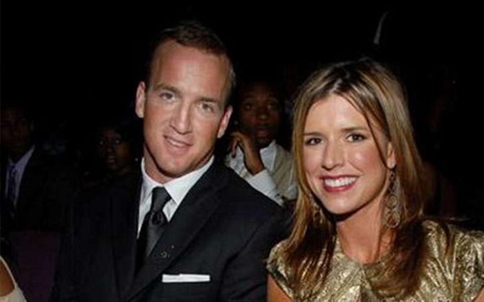 Ashley Thompson and her husband Peyton Manning Spotted together.