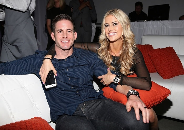 Taylor's divorced parents Tarek El Moussa and Christina Anstead.