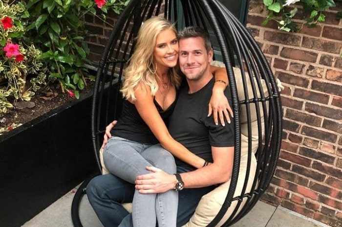 Christina and her loving husband Ant Anstead.