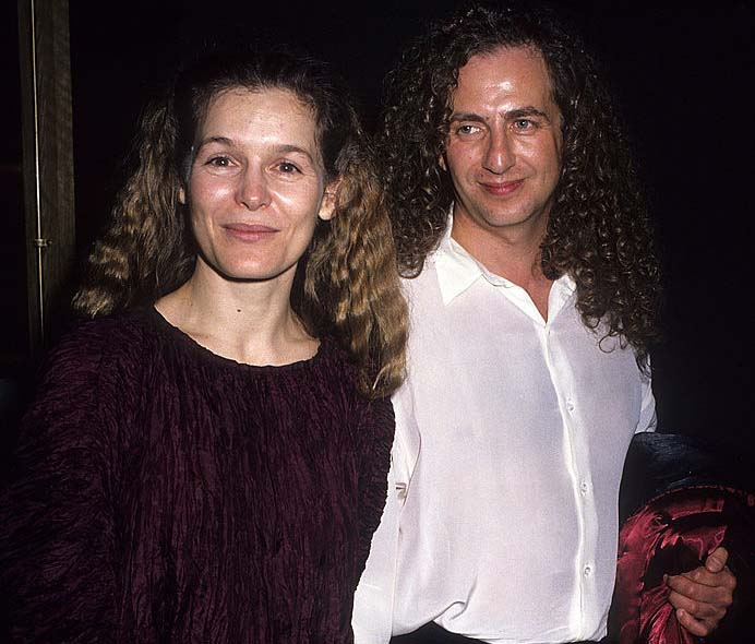 "Alice Krige and Paul Schoolman attending ""See You in the Morning"" movie premiere."