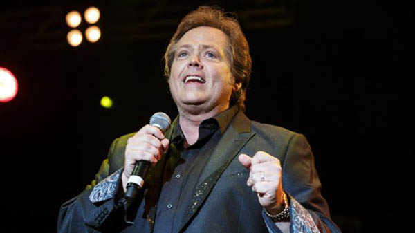 Jimmy Osmond caught on camera.