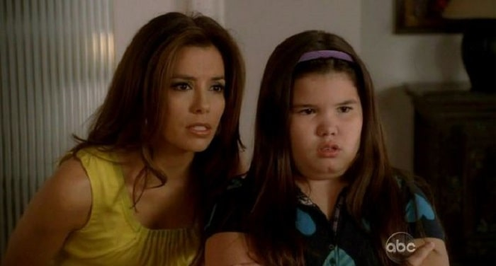 Little Madison on Desperates Housewives.