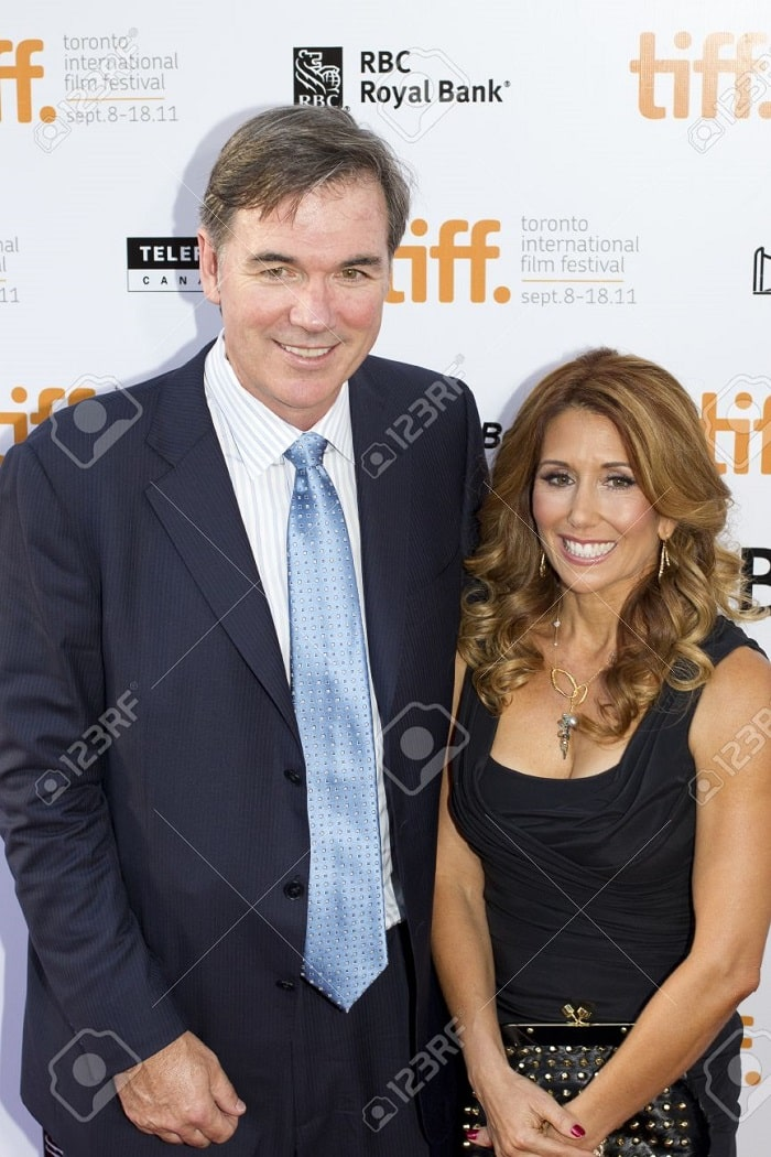 Tara Beane with her loving husband Billy Beane.