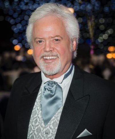 Merrill Osmond poses for a picture.