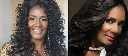 A picture of Momma Dee before (left) and after (right) Botox.