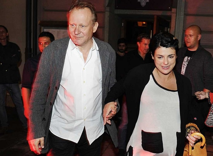 Kolbjorn's loving parents Megan and Stellan Skarsgard