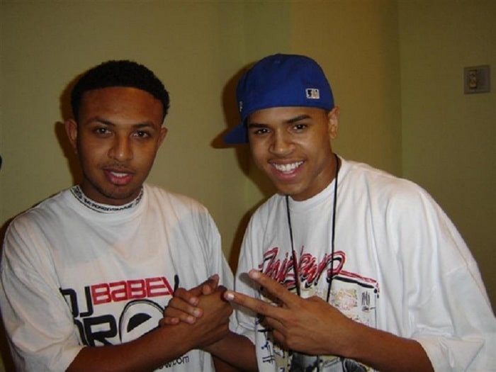 Chris Brown and DJ Babey Drew.