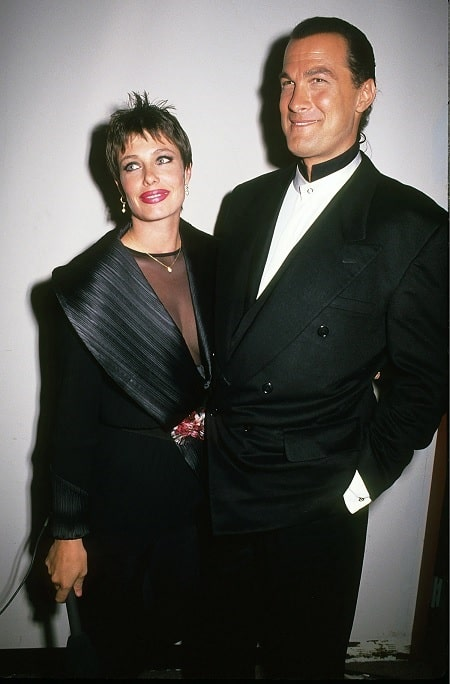 A picture of Annaliza Seagal's parents.