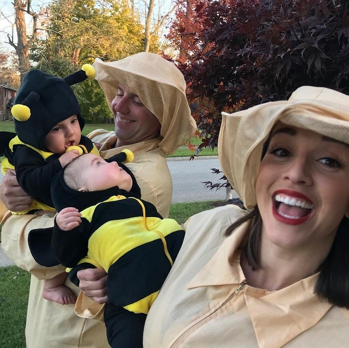 Nick with his wife, Heather and two adorable kids.