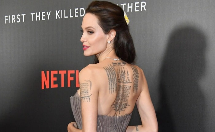 Angelina Jolie's All 16 Tattoos and Their Meaning