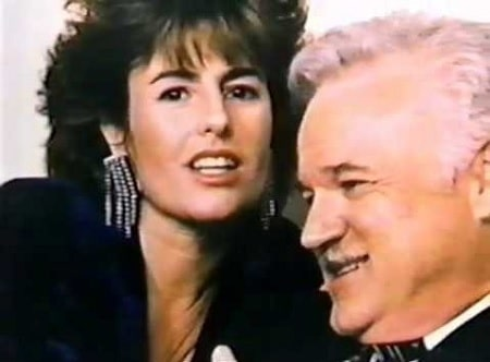 A picture of Kelly Jean Van Dyke with her husband, Jack Nance.
