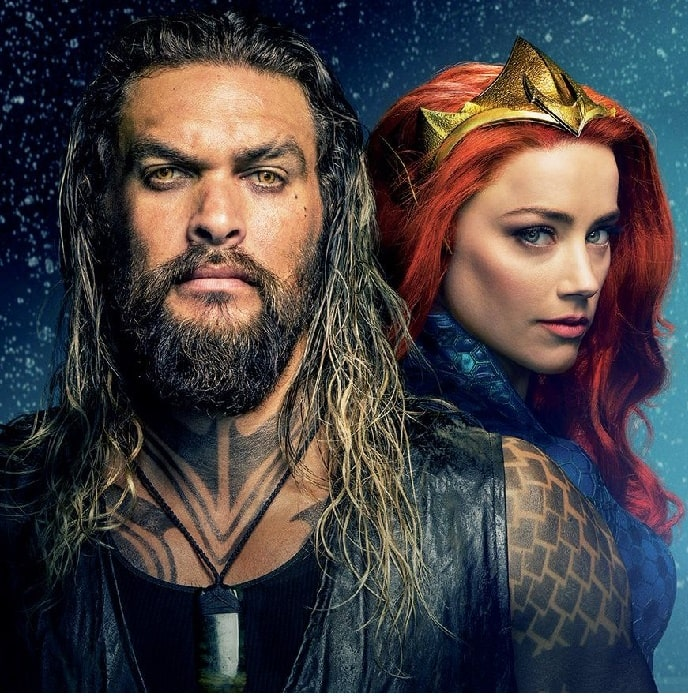 Amber with Jason in Aquaman