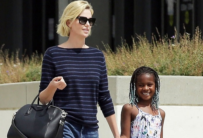 Jackson Theron - Charlize Theron's Son | Photos and Facts