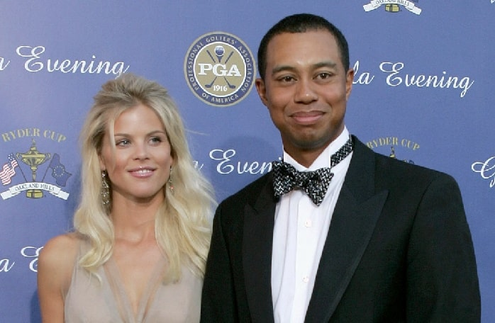 Elin with her ex-husband Tiger woods