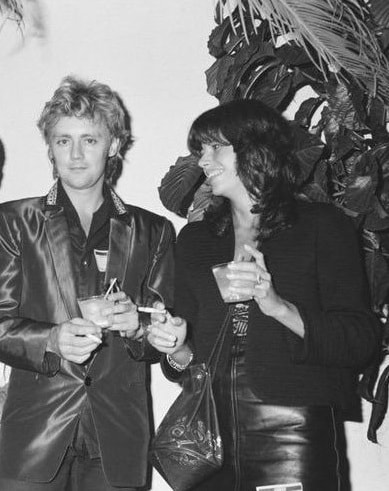A picture of Roger Taylor and Dominiue Beyrand back then.