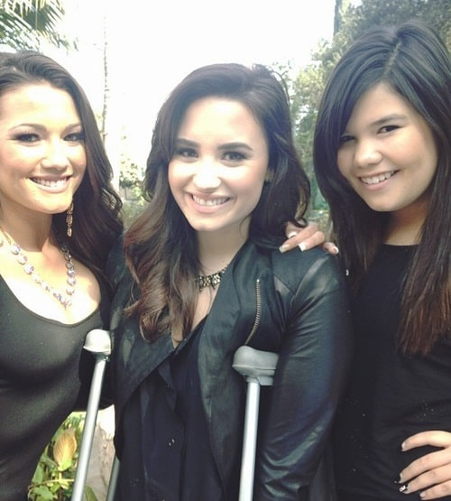 David's three talented and beautiful nieces Dallas, Demi and Madison.