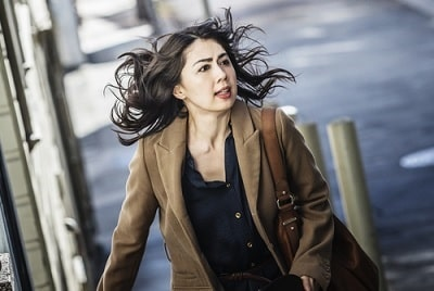 A picture of Ayako Fujitani in the movie 'A Man from Reno'.