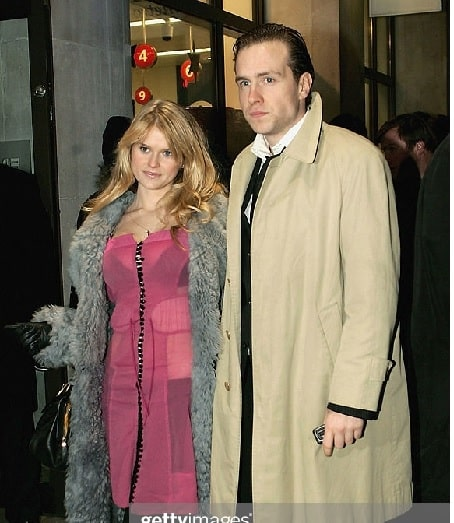 Alice Eve with her ex-boyfriend Rafe Spall.