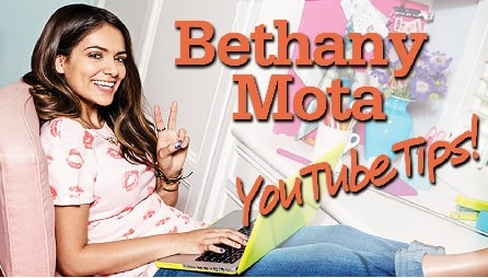 A picture of Bethany Mota.