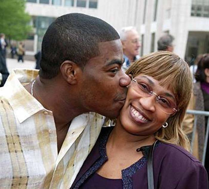 A picture of Sabina and Tracy Morgan.