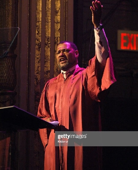 Laurence Fishburne in one of his stage performance.