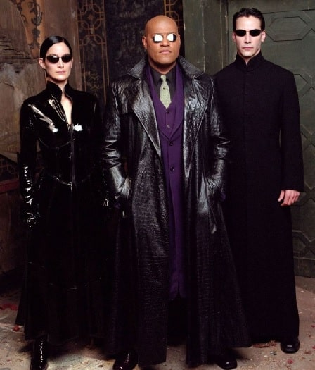 Laurence Fishburne as Morpheus in The Matrix.