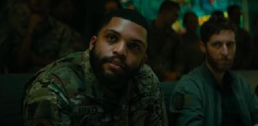 O'Shea Jackson Jr as  Chief Warrant Officer Barnes in Godzilla: King of the Monsters.
