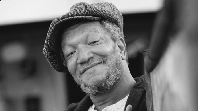 Late Redd Foxx's Net Worth - Comedian Was Broke At The Time of Dearh