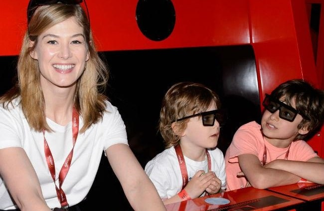Get to Know Atom Uniacke - Rosamund Pike's Son With Roni Unicake