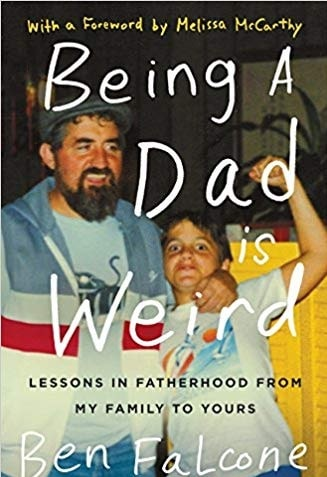 A book written by Vivian Falcone's father Ben Falcone.