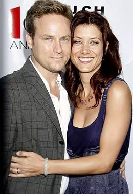 A picture of Kate Walsh with her ex-husband, Alex Young.