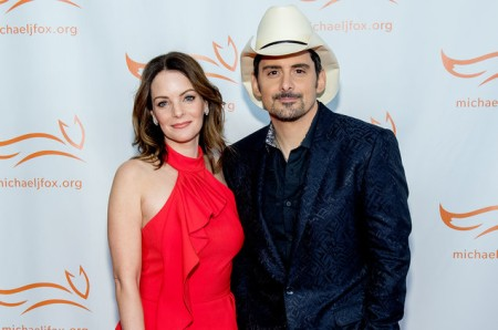 A picture of Brad Paisley and his wife Kimberly.