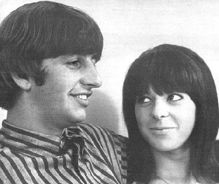 A picture of Lee Starkey parents Ringo Starr and Maureen Starkey Tigrett.
