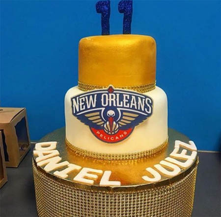 A picture of Daniel's 11th birthday cake