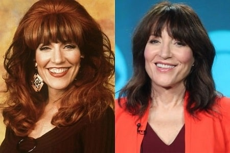 In picture, Katey Sagal's transforming face throughout the years.