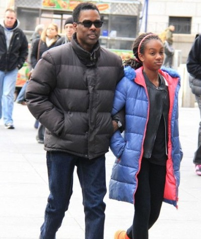 A photo of Chris Rock and his daughter Lola.