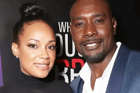 A picture of Paige Chestnut parents Morris Chestnut and Pam Chestnut.