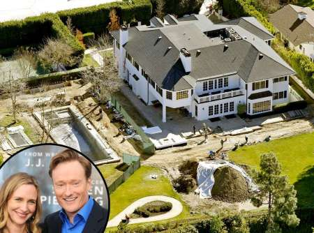 Liza Powel and Conan O'Brien's Pacific Palisades Home is worth $19,475,694